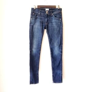 HUDSON Collin Midrise skinny Jean's flap pockets